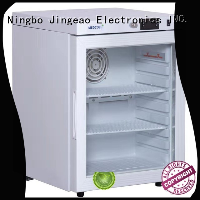 Jingeao easy to use refrigerator with lock owner for hospital