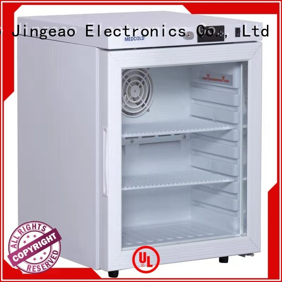 Jingeao power saving medical refrigerator development for pharmacy