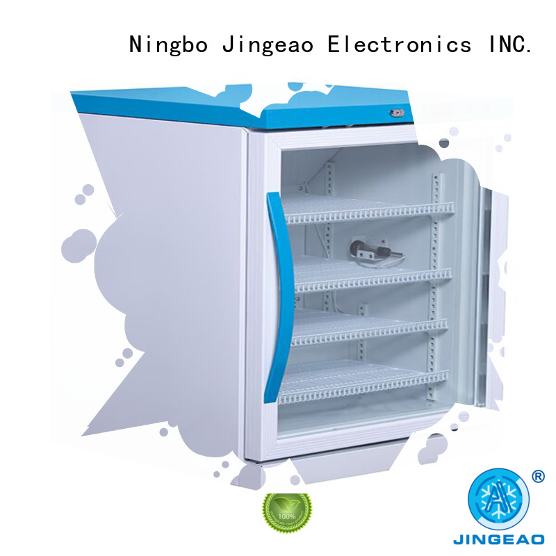 Jingeao fashion design medical refrigerator testing for pharmacy
