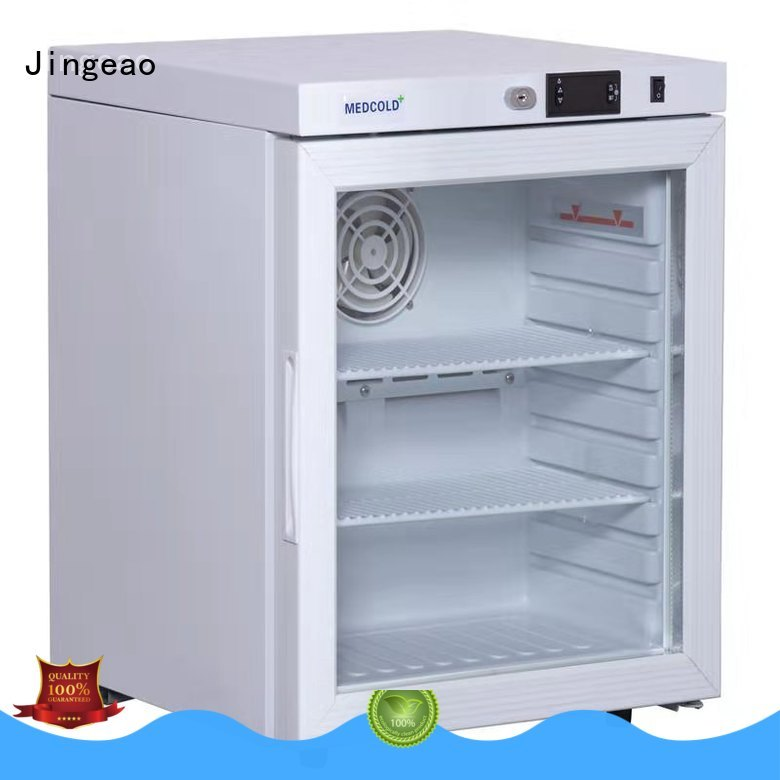 Jingeao accurate medical refrigerator testing for drugstore
