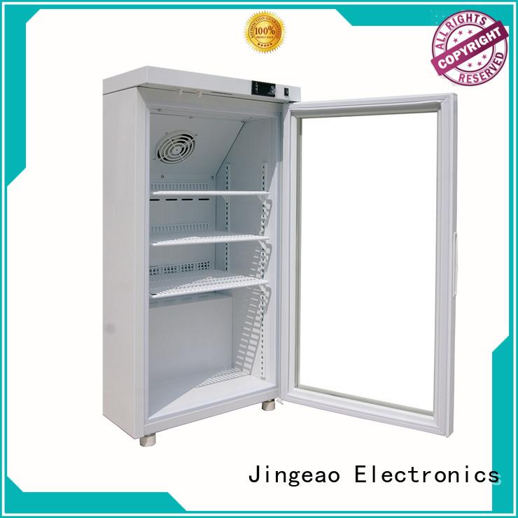 Jingeao power saving pharmaceutical fridge speed for drugstore