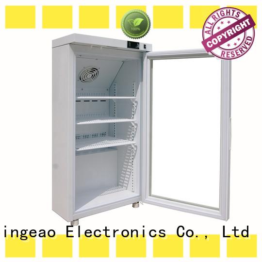 fashion design medical refrigerator supplier for drugstore