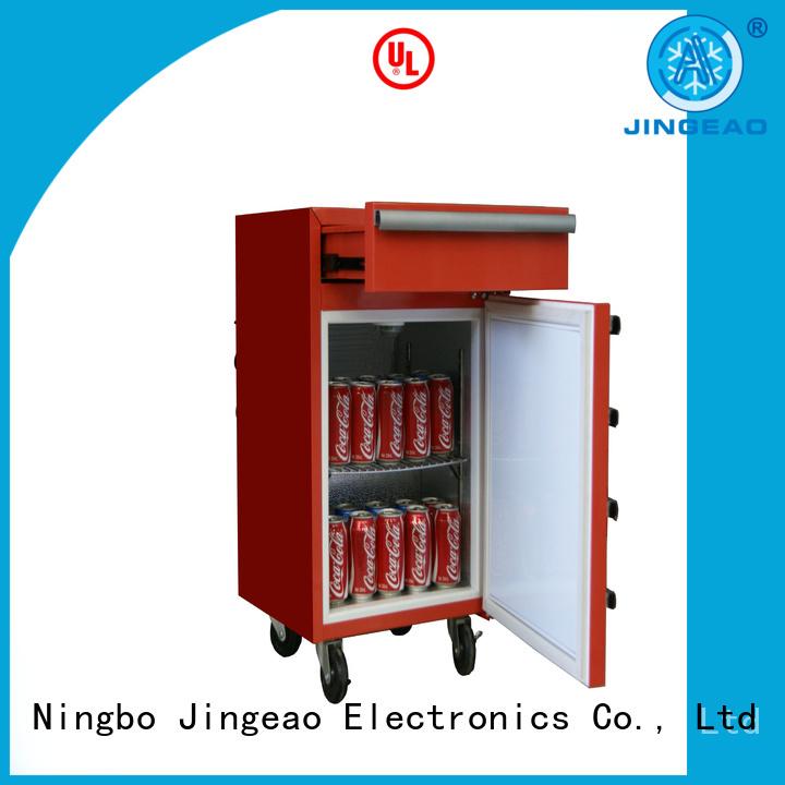 Jingeao door toolbox freezer overseas market for company