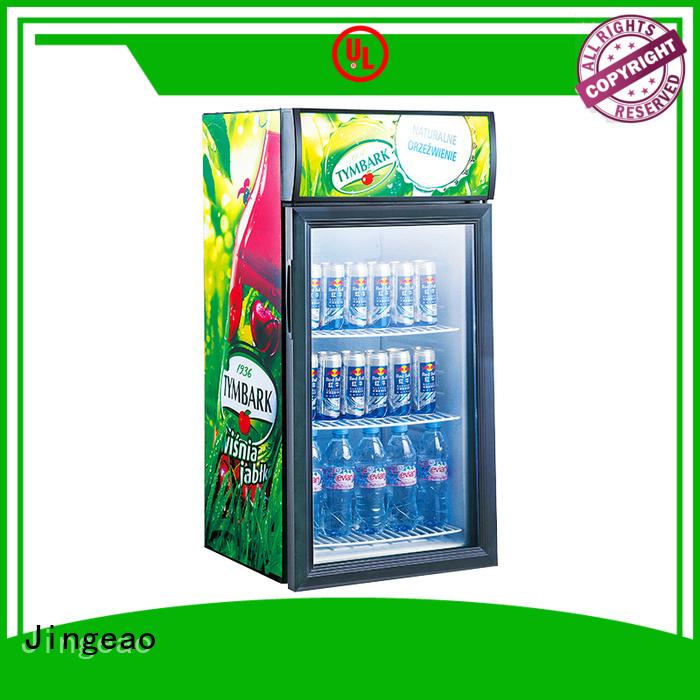 Jingeao fridge commercial drinks fridge type for wine