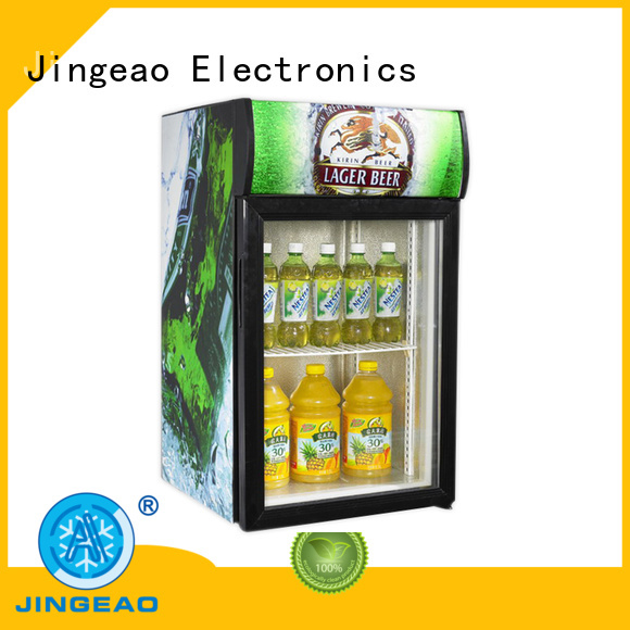 upright display freezer beverage for wine Jingeao