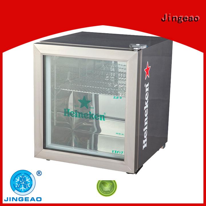 Jingeao energy saving display chiller for-sale for restaurant