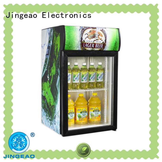 Jingeao good-looking glass front fridge protection for company