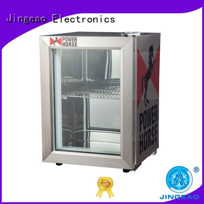 Jingeao good-looking display fridge constantly for company
