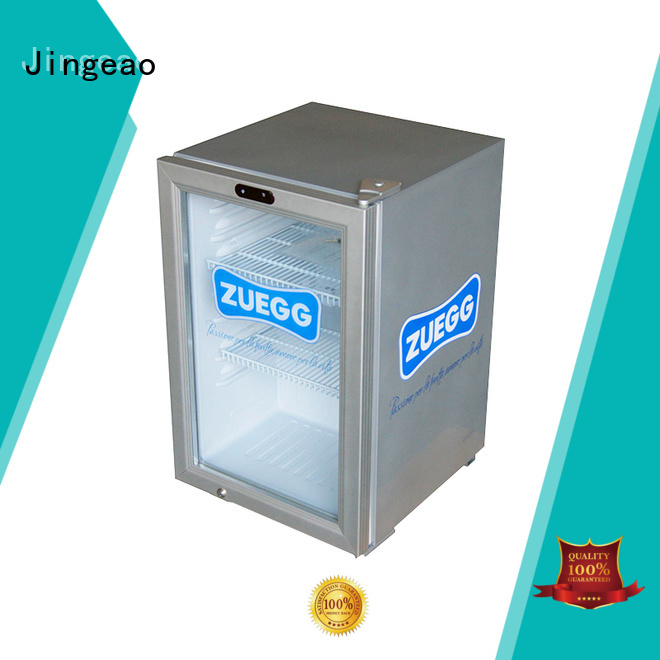 Jingeao popular beer display cooler type for supermarket