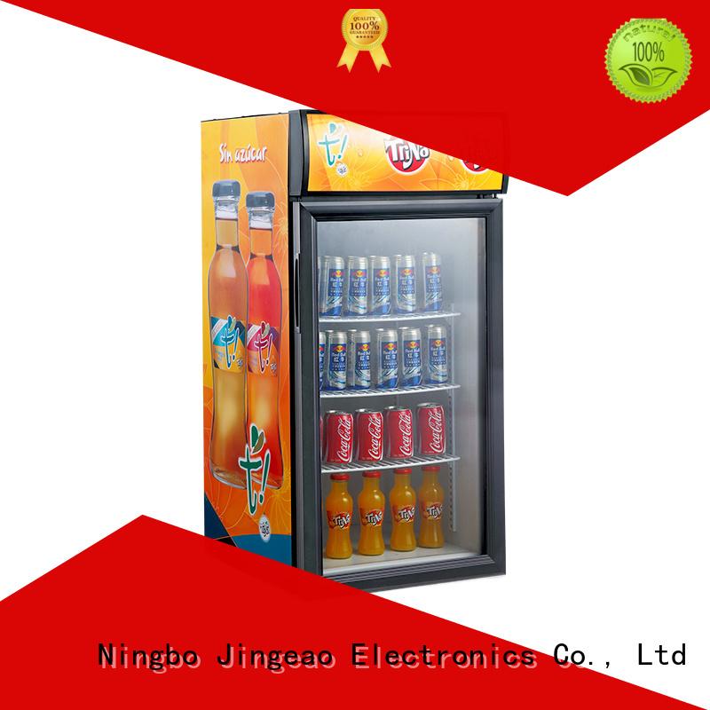 Jingeao dazzing glass door refrigerator management for market