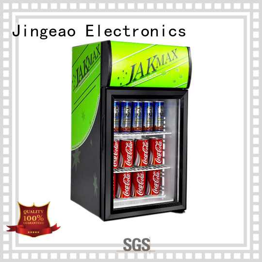 Jingeao display display fridge constantly for hotel