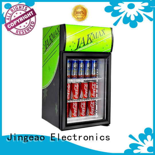 beverage commercial display fridges marketing for school Jingeao