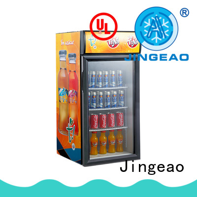 Jingeao cooler small commercial refrigerator certifications for wine