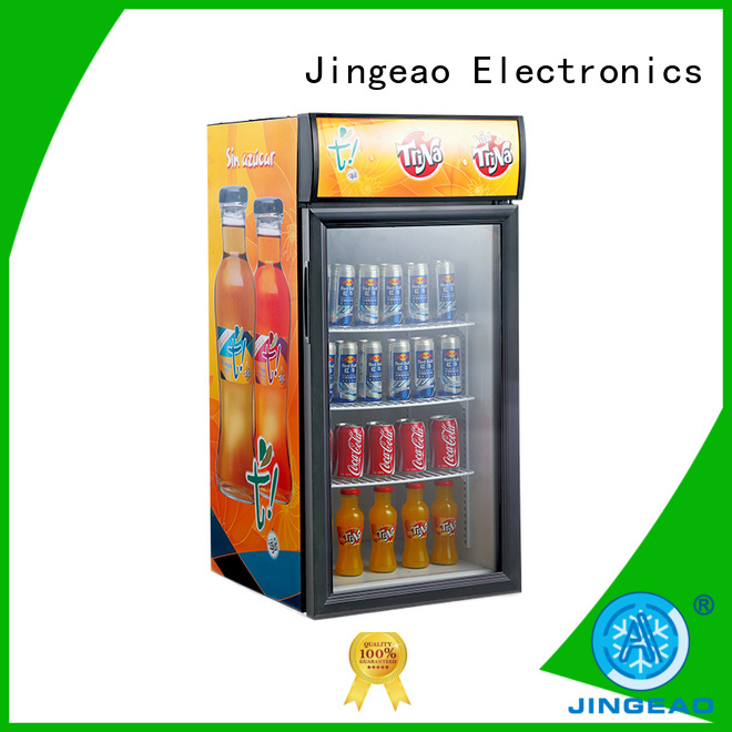 Jingeao fridge commercial display fridge for sale type for company