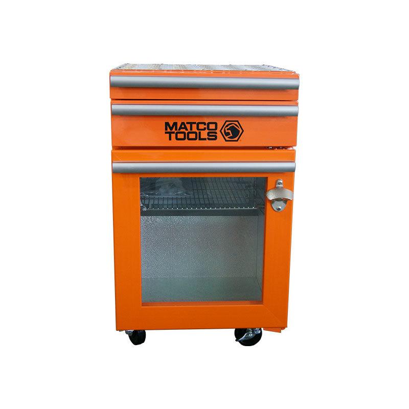 JGA-SC50-2 Drawers Toolbox Fridge  Glass Door