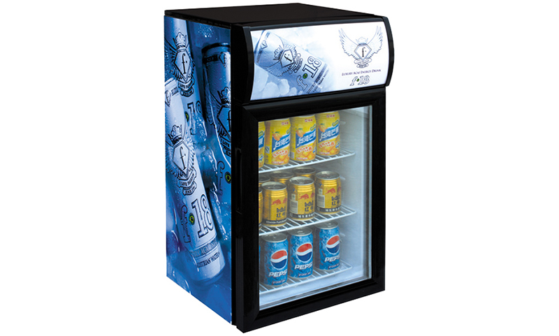 good-looking glass door refrigerator display research for company