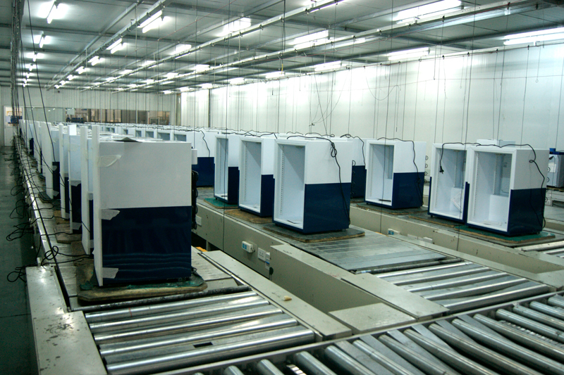 Commercial Fridge Testing Room