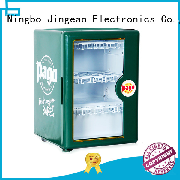 Jingeao high-reputation commercial display fridges package for bar