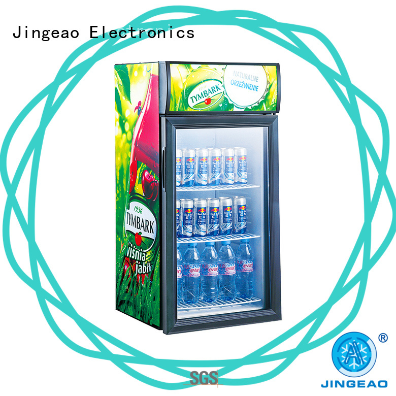 upright display fridge display for hotel Jingeao