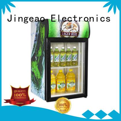 Jingeao superb commercial display fridge for sale application for restaurant