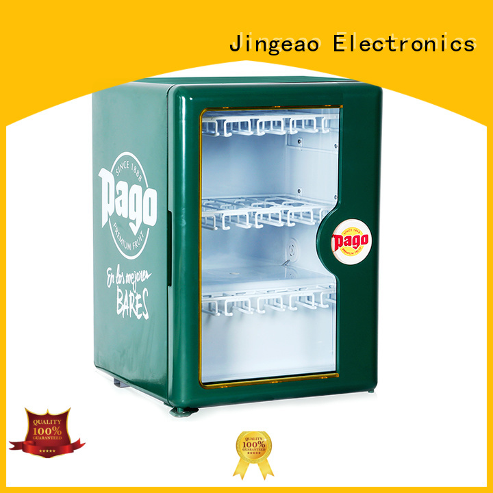 Jingeao good-looking display refrigerator certifications for company