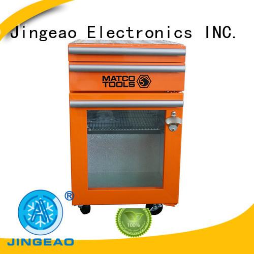 Jingeao easy to use mini beverage fridge shop now for school