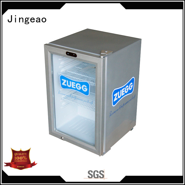 Jingeao display small commercial freezer type for store