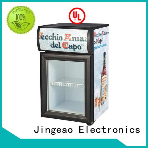 Jingeao fridge display fridge constantly for store