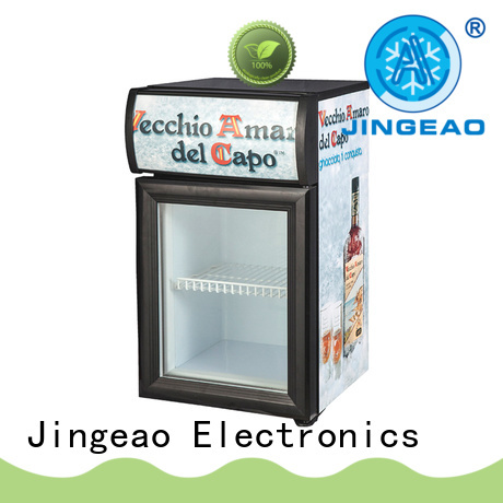 Jingeao display display fridge certifications for company