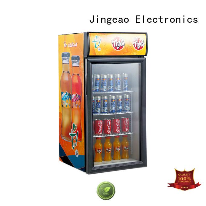Jingeao energy saving display refrigerators workshops for market