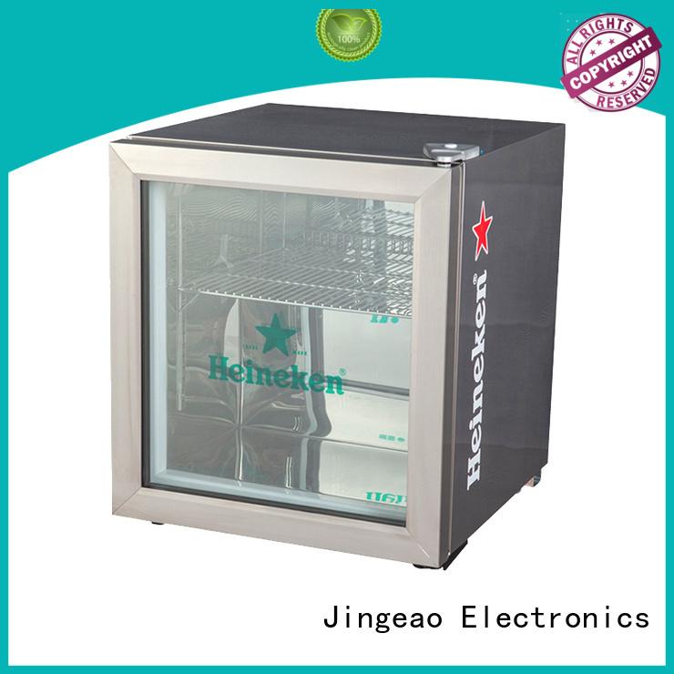 Jingeao beverage glass door refrigerator research for company