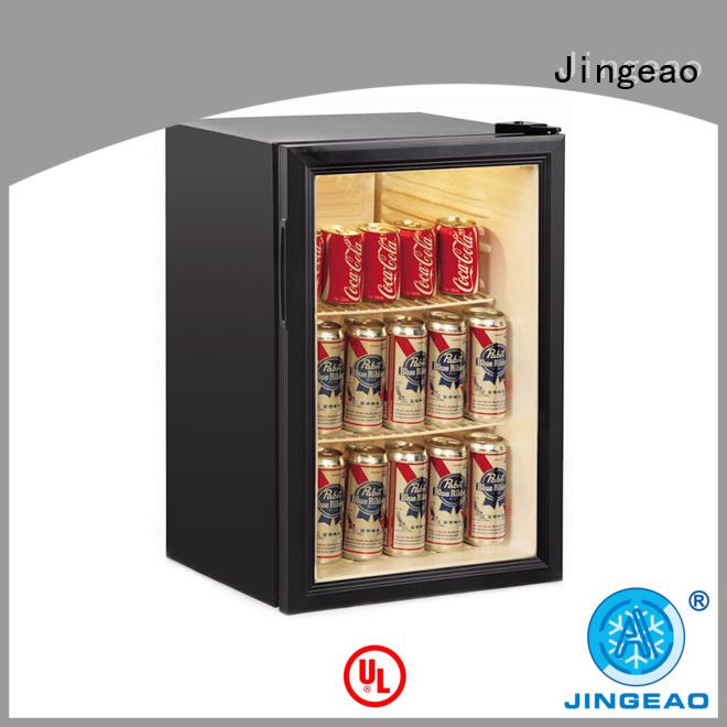 cooler commercial drinks display fridge display for hotel Jingeao