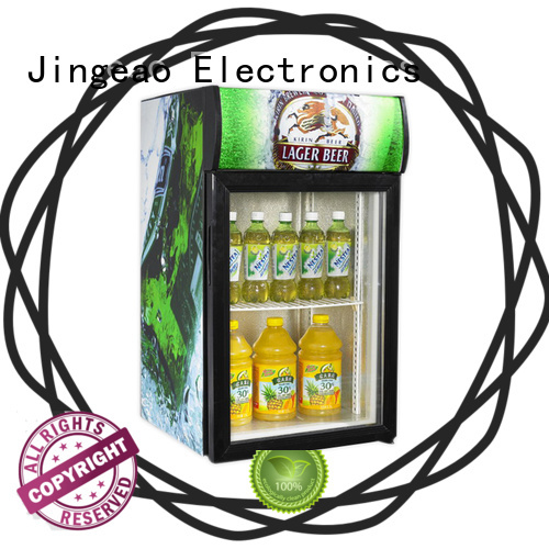 Jingeao popular commercial drink fridge workshops for wine