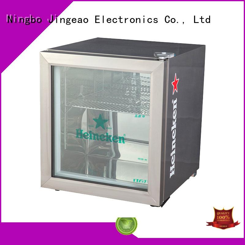 Jingeao dazzing glass door refrigerator sensing for market