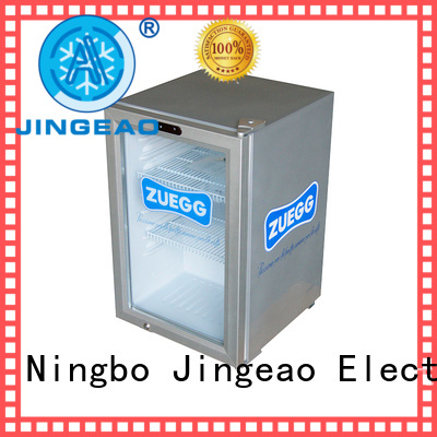 cool glass display refrigerator package for bar