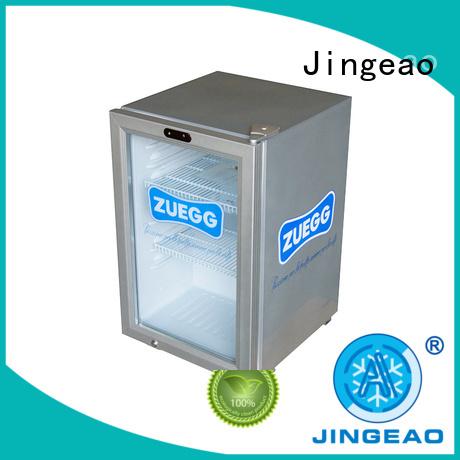 Jingeao fridge beverage coolers manufacturers for hotel