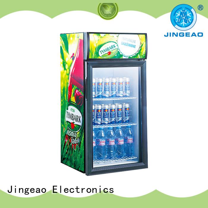 high-reputation glass door refrigerator display protection