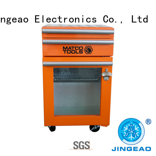 Jingeao efficient tool box refrigerator drawers for supermarket