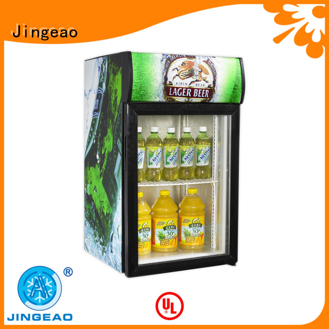 beverage glass door refrigerator for-sale for restaurant Jingeao
