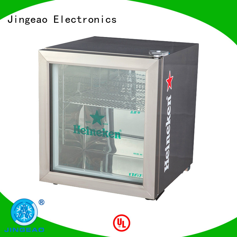 Jingeao energy saving commercial drinks cooler certifications for company
