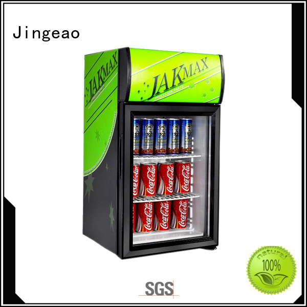 dazzing commercial drinks cooler display constantly for hotel