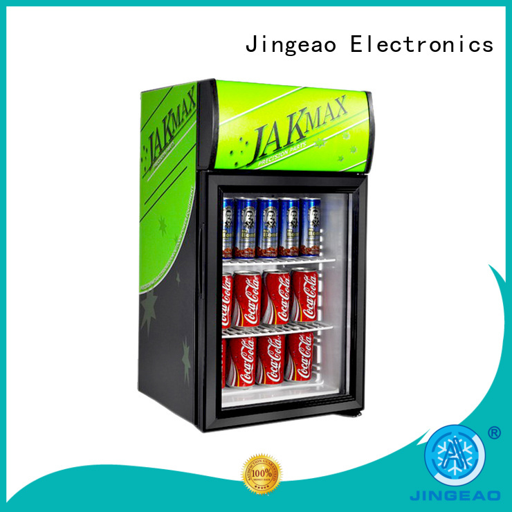 Jingeao display display freezer workshops for market