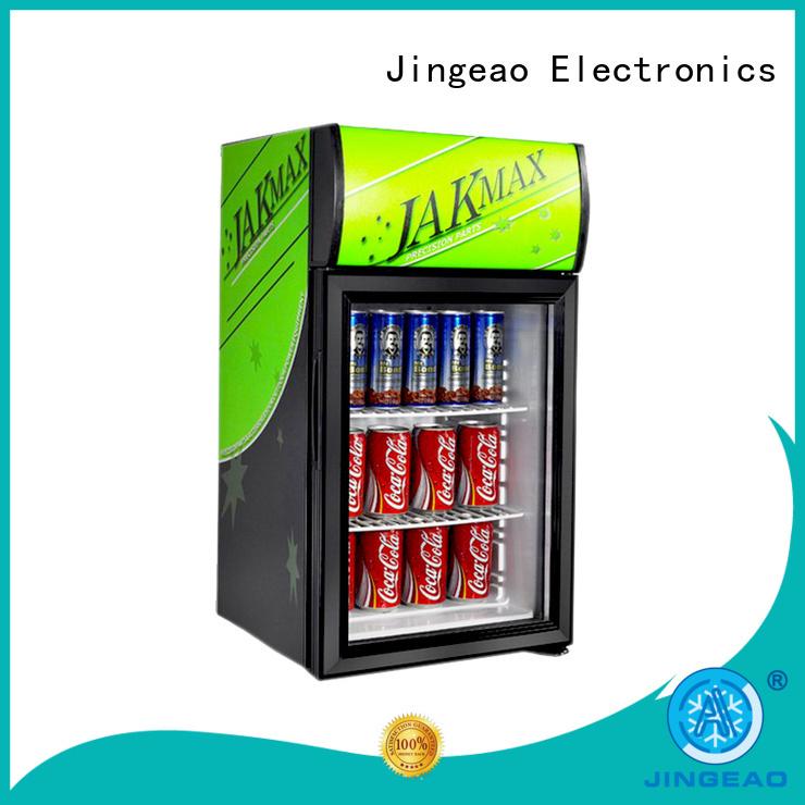 Jingeao display display freezer workshops for market