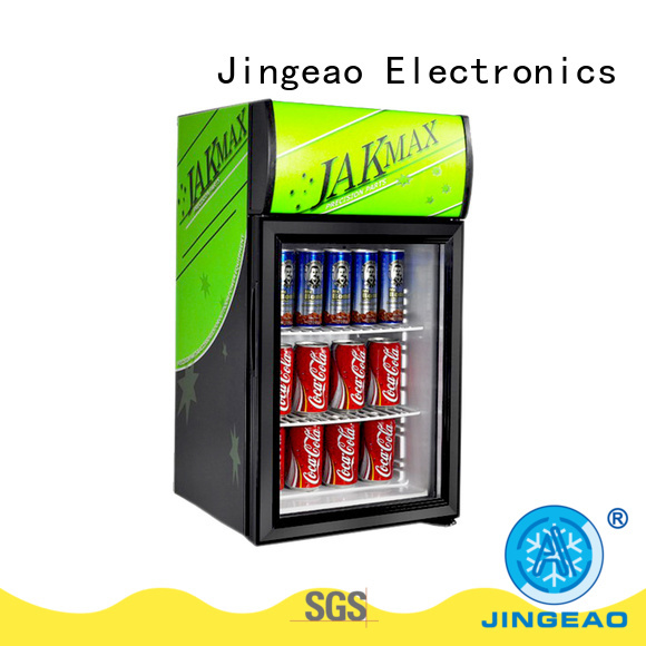 Jingeao cooler commercial display fridges application for bakery