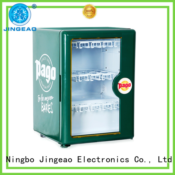 Jingeao fridge drink display cooler environmentally friendly for hotel