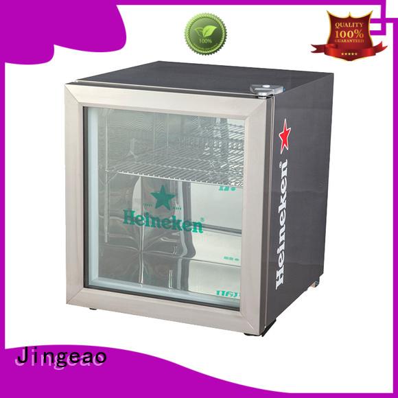 Jingeao beverage retail display fridge improvement for hotel