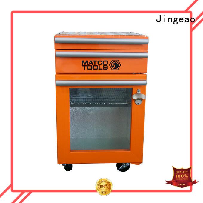 Jingeao blue toolbox cooler for restaurant