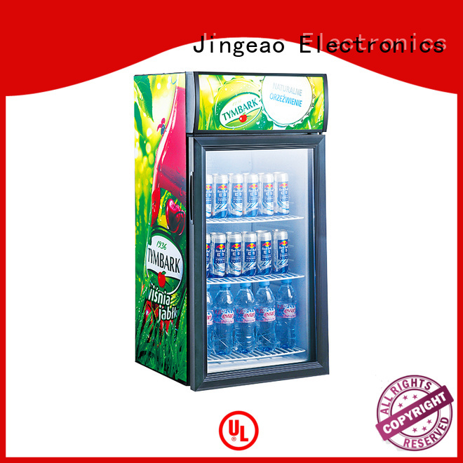 Jingeao beverage retail display fridge environmentally friendly