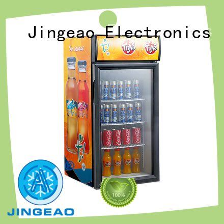 Jingeao fridge commercial drinks refrigerator for store