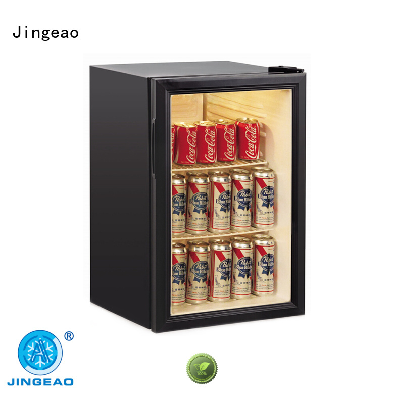 Jingeao good-looking commercial display fridges package for school